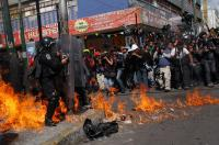 Mexico: Clashes during the protests against energy reform