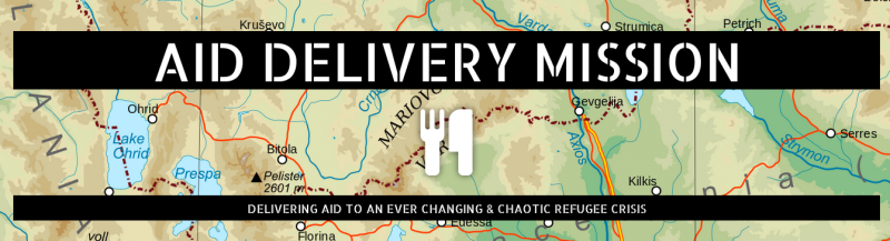 Aid delivery mission